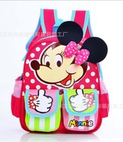 class a bags - New Children s school bags Pupils cartoon book bag Mickey nursery school backpack In a small class Lovely baby backpack Free transportation