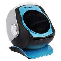 Wholesale Jebely Single Watch Winder for Automatic Mechanicals Bright JA083 Blue