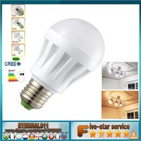 Wholesale LED High brightness Energy saving bulb W W W W W W V E27 led lamp cold warm white SMD Light spotlight