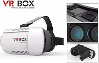 Wholesale New promotion gift Professional VR headset BOX3D Glasses Upgraded Version Virtual Reality D Video VR Glasses box for iphone with contraller