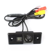 Wholesale CCD Chip Car Rear View Backup Mirror Image Camera for Volkswagen VW CAYENNE TIGUAN TOUAREG POLO PASSAT With Guide Line