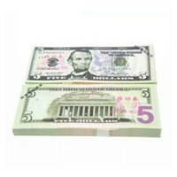 Wholesale 100PCS USA BANKNOTES Dollars Bank Staff Training Collect Learning Banknotes Arts Crafts