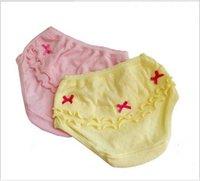 Wholesale 0 Y Comfortable Girl Underwear Kids Children Cotton Panties Bow Kids Underwear Young Child Girl Panties12pcs