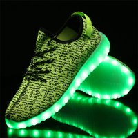 Wholesale New Summer Led Shoes Men Women Light Up Shoes Luminous Mens Shoes Sales Casual Glowing Zapatillas Deprotivas Hombre Led