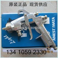 Wholesale W P from Japan Iwata pressure feed spray guns W200 P original iwata painting gun without cup mm nozzle size