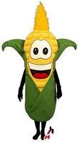 Mascotte de maïs sur mesure Costume Taille adulte, livraison gratuite