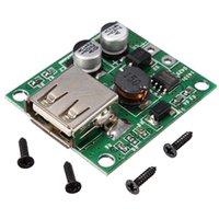 Wholesale universal Solar Panel Power Bank USB Charge Voltage Controller Regulator Pro V V input V A Output DIY for all Smart Phones