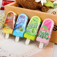 Wholesale Sweet Cute ice cream design eraser funny eraser nice gift office school supplies