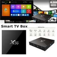 Wholesale X96 Amlogic S905X bits Android Marshmallow TV BOX Cortex A53 Quad Core X96 G G K Set Box support Wifi HDMI A Media KODI