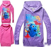 best brand sweaters - best shipping new children s pullover hoodies Spring and Autumn children s cartoon Finding Nemo Girls sweater