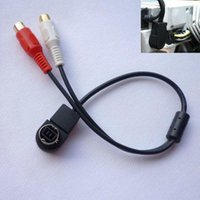 alpine rca - New Hot Car Accessory for Aux Input Cable For ALPINE KCA B AI NET RCA Auxiliary Freeshipping