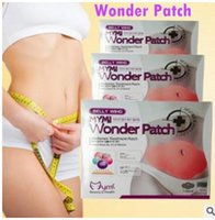 Wholesale 5 Patches in Retail box MYMI Korea Wonder Patch Burn Belly Fat Wing Lose Weight Slim Patches for Women Girls Set by DHL TVA003