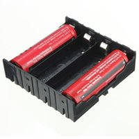 Wholesale High quality DIY Black Storage Box Holder Case For x V Rechargeable Batteries Test Study Tool Converter