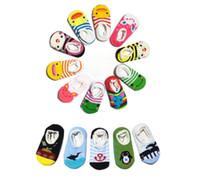 baby boat shoes - Baby Boat Socks Children s Shoes Antiskid Non slip Bottom Cartoon kids toddle socks baby short socks infant antislip socks antiskid sock