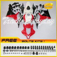 Wholesale Injection Mold Fairing Kit With Rear Seat Cover Tank Cover Fits CBR600RR F5 CBR600 RR CBR Red Black I26