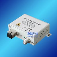 bandwidth converter - RDH R CATV MINI AGC FTTH Coaxial to Fiber Converter FTTH Way output CATV AGC receiver with work bandwidth MHz AGC function