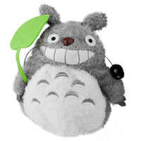 Wholesale Fashion and Comfortable Plush Doll Totoro Backpack Smile totoro backpack Lovely totoro backpack bag inch smile totoro backpack
