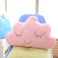Wholesale Cloud Pillow Cushion With Smile toys Cushion kids decorative pillows for bed Dolls amp Stuffed Toys
