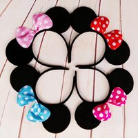 apparel items - Sale Halloween item Minnie Mouse Costume Ears Headband Girls Apparel Accessories Mickey Mouse Ears Headband Party Headwear Clips
