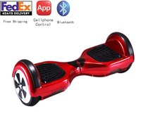 Wholesale Outdoor Sport inch Wheel Hoverboard Smart Electric Balance Scooter Self Balacing Scooter Smart Drifting Scooter Bluetooth