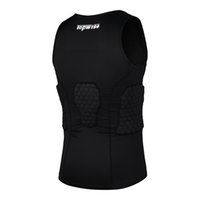 Wholesale piece Sports Outdoors Athletic Outdoor Acces Sports Safety Back Support crash vest Black polyurethane