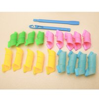 Wholesale 18pcs DIY Amazing Magic Leverag Hair Curlers Curlformers Hair Roller Hair Styling Tools