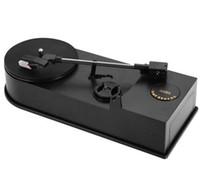 audio usb turntable - EC008B USB Mini Phonograph Turntable Vinyl Turntables Audio Player Support Turntable Convert LP Record to CD or MP3 Function