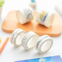 Wholesale Three year two class hand DIY hand carrying tape pasted paper decorative colored lace graffiti pocket diary