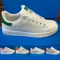 Cheap Cheap high quality men women low stan smith flat shoes unisex running shoes athletic sports shoes sneakers