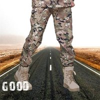 Wholesale New Men Lurker Shark skin Soft Shell Outdoor Military Tactical Hiking Pants Waterproof Windproof Sports Army camouflage Pants