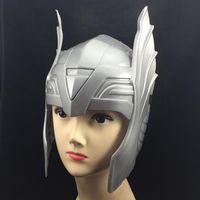 alliance helmet - Avengers Alliance Thor Odinson Helmet Cartoon Mask Cosplay Halloween Party Mask Carnival Torres Costume
