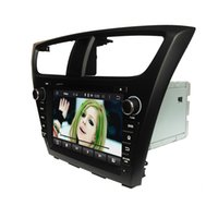 Wholesale New Inch Capacitive multi touch screen android Car DVD Player for Honda Civic Double Din GPS WIFI G Ipod BT
