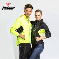 Wholesale Tasdan Cycling Clothes Cycling Wear Men s Cycling Jacket Pu Coating Wind proof W r Zipper Off Jacket Vest Detachable Jacket