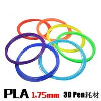 Wholesale 3D Printer Filament PLA mm High Quality Print Material for D Printing Pens m colors for choose