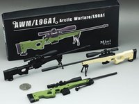 scale model figures - 1 Scale AWP Sniper Rifle Gun Model Brand New Metal Toy Gun Action Figure Boy s Gift cm