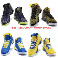 Wholesale Stephen Curry One High Tops Youth Shoes Kids Sneakers Children curry Basketball Shoes Big Boys Shoes