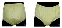 Wholesale FUUBUU2201 Yellow M Safety trousers Physiological pants Incontinence pants Adult Diaper Pocket diapers