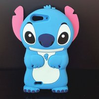 apex cover - Cute D Cartoon Soft Silicone Rubber Blue Stitch Protective Back Cover Case For ZTE L2 L3 Apex Plus Blade V6 LG Max Bello Zero