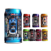 battery operated radios - 8 Colors Coke Can RC Car Radio Remote Control Car Micro Racing Car Toy Road Blocks Kid s Toys Gifts Rc Cars