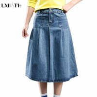 Cheap Long Denim Skirts Plus Size | Free Shipping Long Denim ...