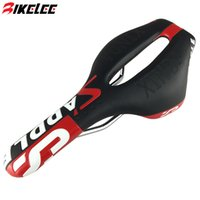 Wholesale New Design Hollow Black Red Cycling Saddle PU Leather Bicycle seat Wide Mountain Road Bike Sit Sillin Bicicleta Bicycle Parts
