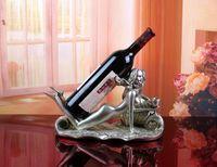 belle holder - Wine holders Classical style synthetic resin Beach belle barware Wine Rack Creative top elegant bar tools Z