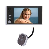 bell view - 3 inch LCD peephole door camera video eye IR Night vision Megapixels camera Take View Photos door bell video peephole