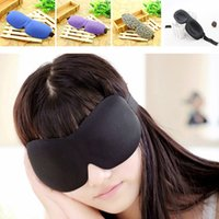 Wholesale DHL D Eye Mask Soft Padded Sleep Travel Shade Cover Rest Relax Seamless Sleeping Blindfold Leopard Goggles Colors Choose JS M02