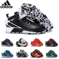 athletic d - Adidas Originals D Rose Boost Men s Basketball Shoes Crazylight Boost Athletic Men Shoes Sport Basketball Shoes Hot