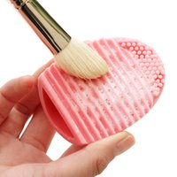 silica - 1 New Cleaning Make Up Washing Brush Silica Scrubber Board Cosmetic Makeup Brushes Cleanser Brushegg Clean Tools