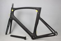 Wholesale Bicycle Parts Bicycle Frame China carbon road bike frame carbon fiber t1100 bicycle frame pf30 size glossy matte