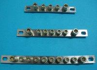 Cobre cero emisión de banda de terminales línea de cableado de cobre fila de 7 agujeros tamaño 2 * 20