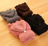 Wholesale 2015 Hot Women s Fashion Winter Fall New Hand Wrist Warmer Winter Fingerless Gloves pieces