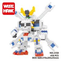 Wholesale 458PCS Weagle Fiend D puzzle building blocks Diamond blocks intelligence educational toys Birthday gifts